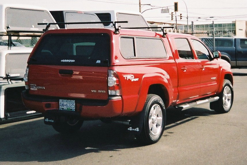 carid tacoma cab rack double com accessories parts roof toyota