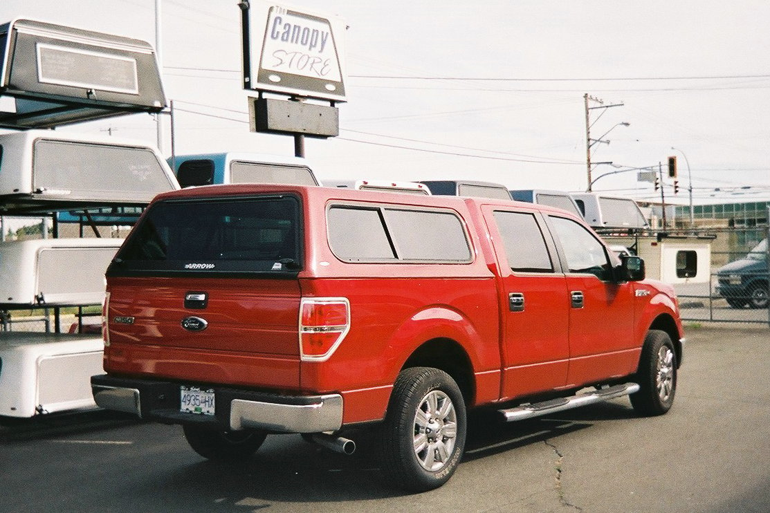 Ford F150 with Arrow Mark I canopy & Ford Canopies | The Canopy Store